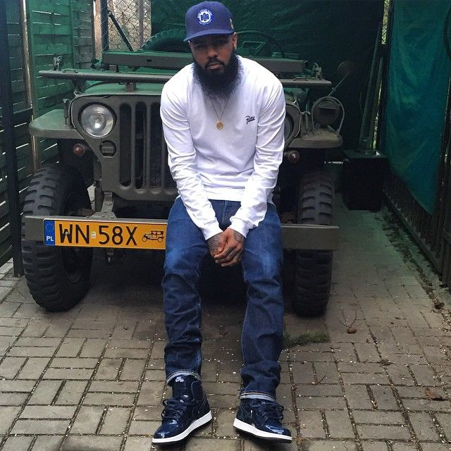 Stalley wearing the DSM x Air Jordan I 1  e525b273b
