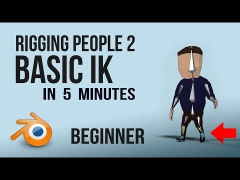 Rigging Basic Ik Foot Roll Blender Youtube With Images