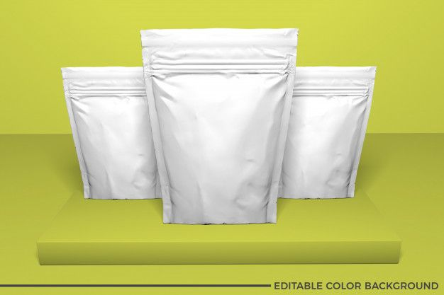 Download Plastic Food Pouch Mockup Food Mockup Food Pouch Packaging Design Inspiration