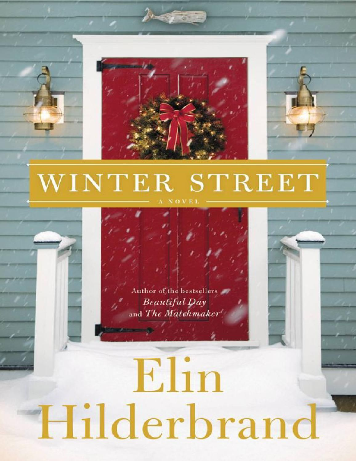 Winter street elin hilderbrand Christmas books