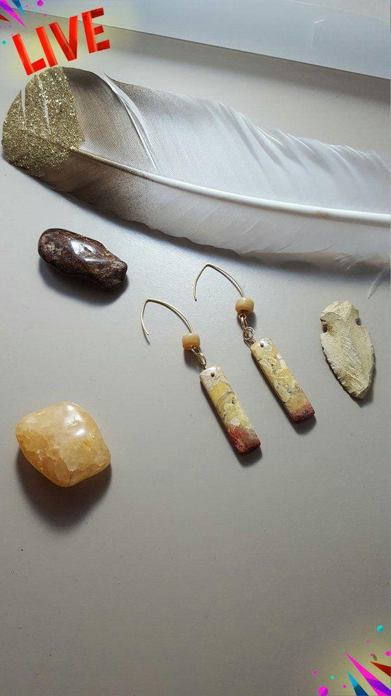 Galaxy Jasper Earrings
