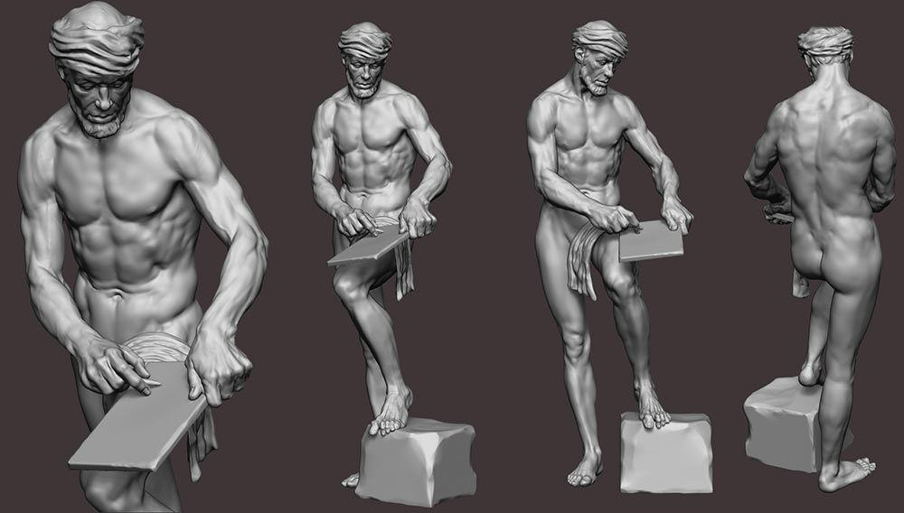 3D Sculpting Human Anatomy by José Péricles Chaves Filho ...