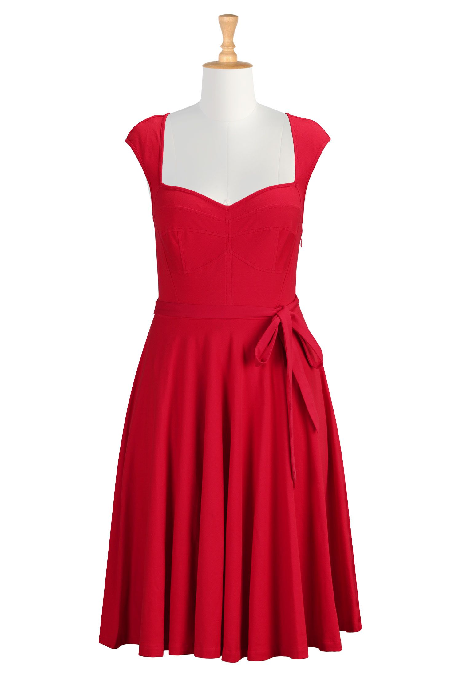 Red Racing Prom Dress