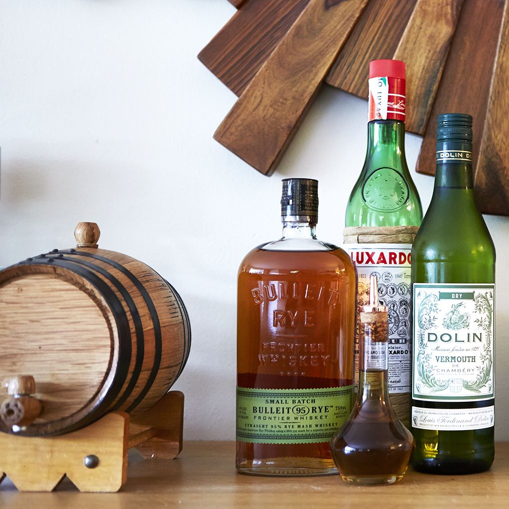 barrel-aging a cocktail at home is an easy way to add a great layer