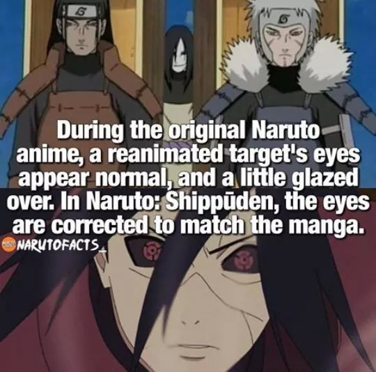 Haha, I observed that too when I rewatched Naruto