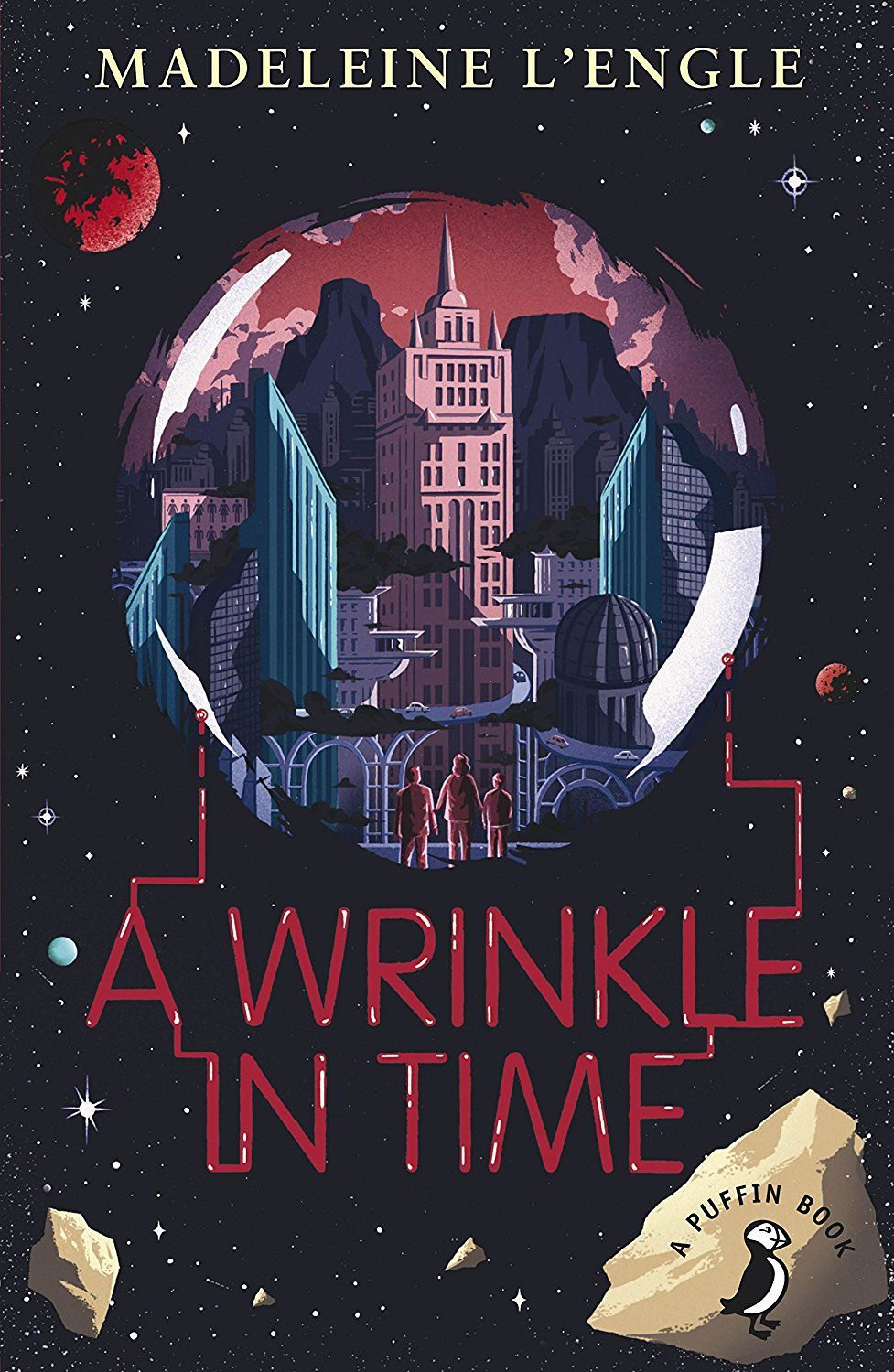 the weirdest of things in a wrinkle in time by madeleine lengle Author:madeleine l'engle format: mobi, epub tags: children: grades 4-6, parents, nonsexist children's literature, missing persons, reading, brothers and sisters, juvenile science fiction, science fiction, ages 9-12 fiction, social issues - friendship, social issues, magic, juvenile fiction, space.