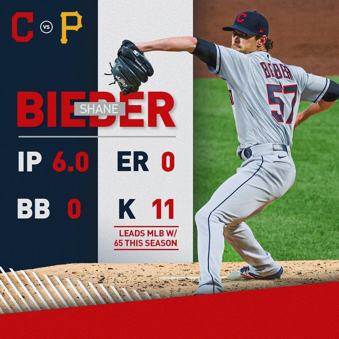 Cleveland Indians Bieber Shane Pitcher Very Good In 2020 Cleveland Indians Cleveland San Diego Padres