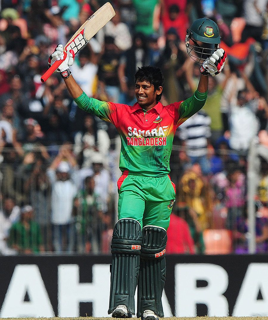 Anamul Haque Became The Third Bangladesh Teenager To Score ODI Century Vs West Indies Khulna December 2012