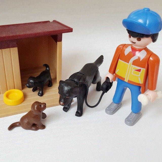 나도 진짜 강아지 가지고파 ㅠㅠ #플레이모빌 #playmobil #선물