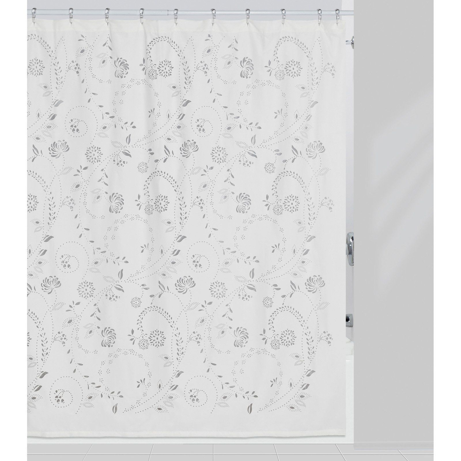 Eyelet Shower Curtain By Creative Bath Products Fabric Shower