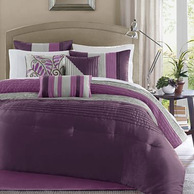 Tradewinds 7 Pc Comforter Set Jcpenney Comforter Sets Matching Bedding And Curtains Burgundy Bedding