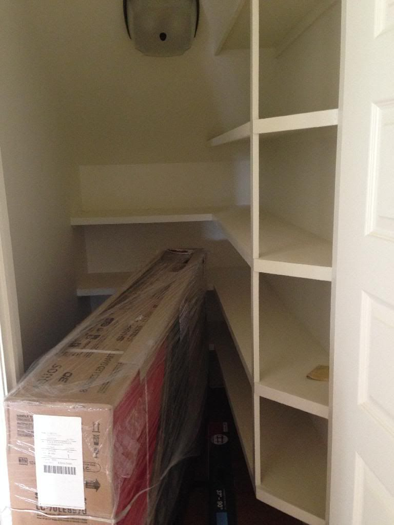 Shelving On One Side Might Be Better Closet Under Stairs