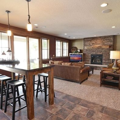 Pin On Decorating, Bar Table For Basement