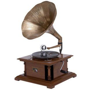 Antique Replica Rca Victor Phonograph Gramophone Phonograph Gramophone Phonograph Record Player