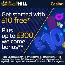 код казино william hill бонус
