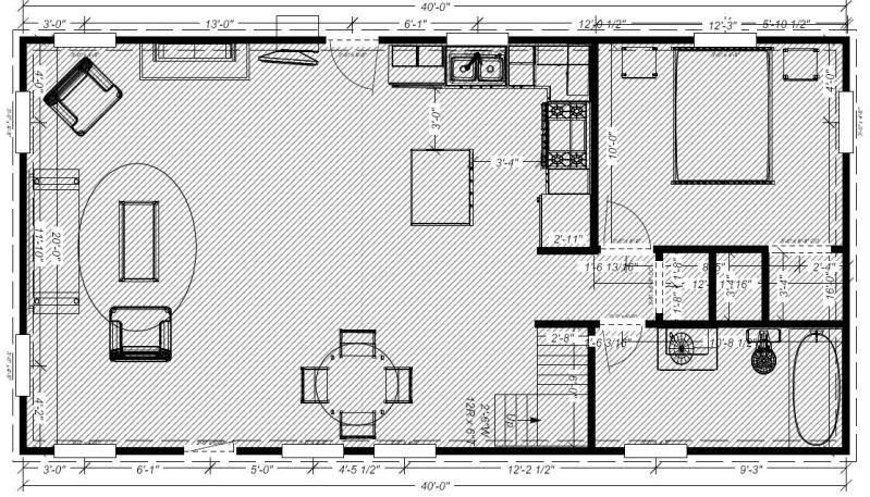 20 X 40 House Plans ideas about 20x40 floor plans for cabin, - free home designs