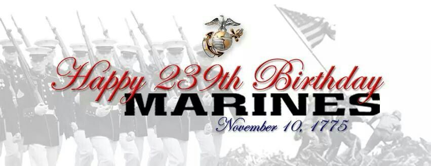 To all my Marine brothers!! Happy Birthday,  Semper Fi