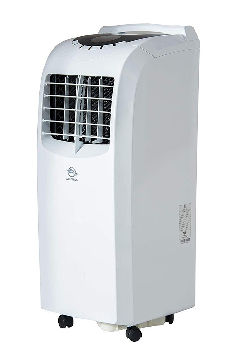 AireMax Portable Air Conditioner with Remote Control for