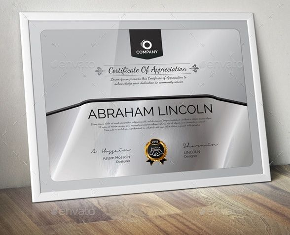 Elegant Certificate of Appreciation Certificates Pinterest - certificate of appreciation