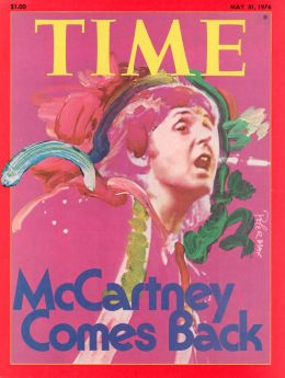 Paul McCartney  TIME  ISSUE DATE: May 31, 1976