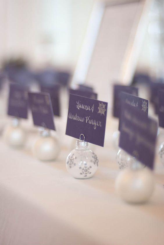 20 Schneeflockendekor-Ideen für Winterhochzeiten!   – Wedding Decorations
