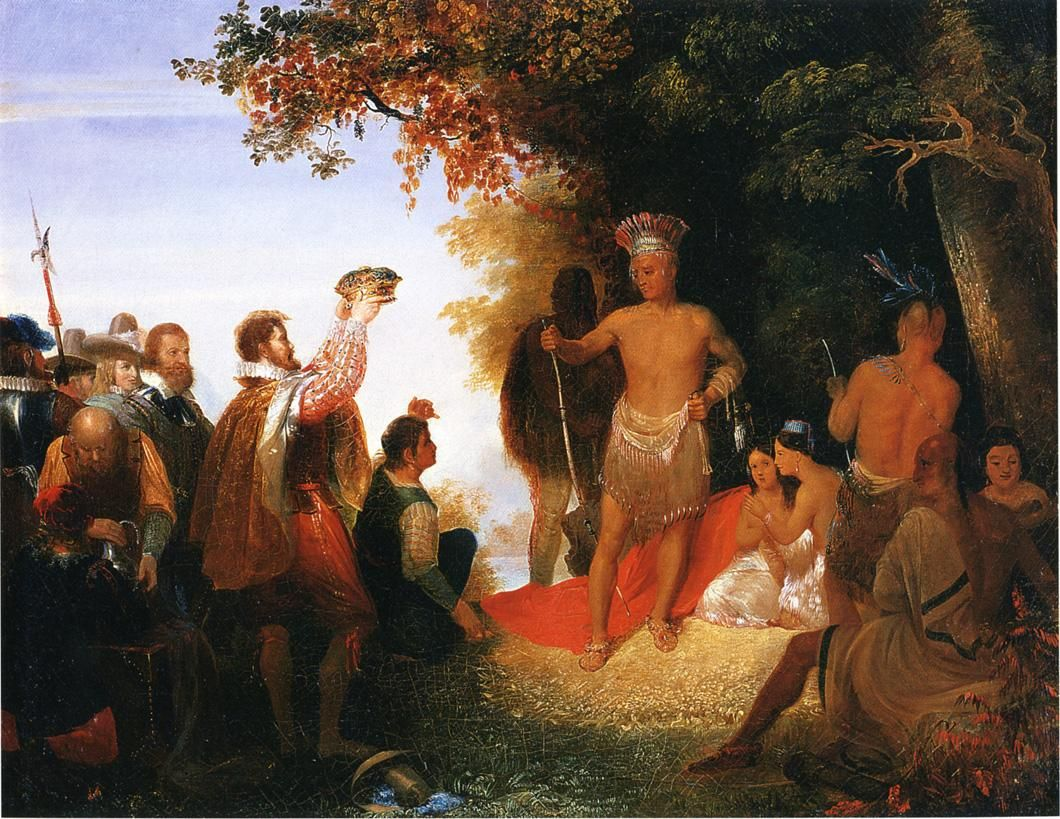 The Powhatan Tribe is wanting a war