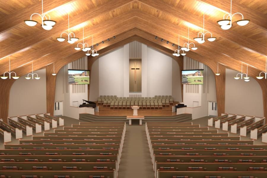 Program 1 Consists Of The Church Or Sanctuary Turning Over The Entire Renovation Project From