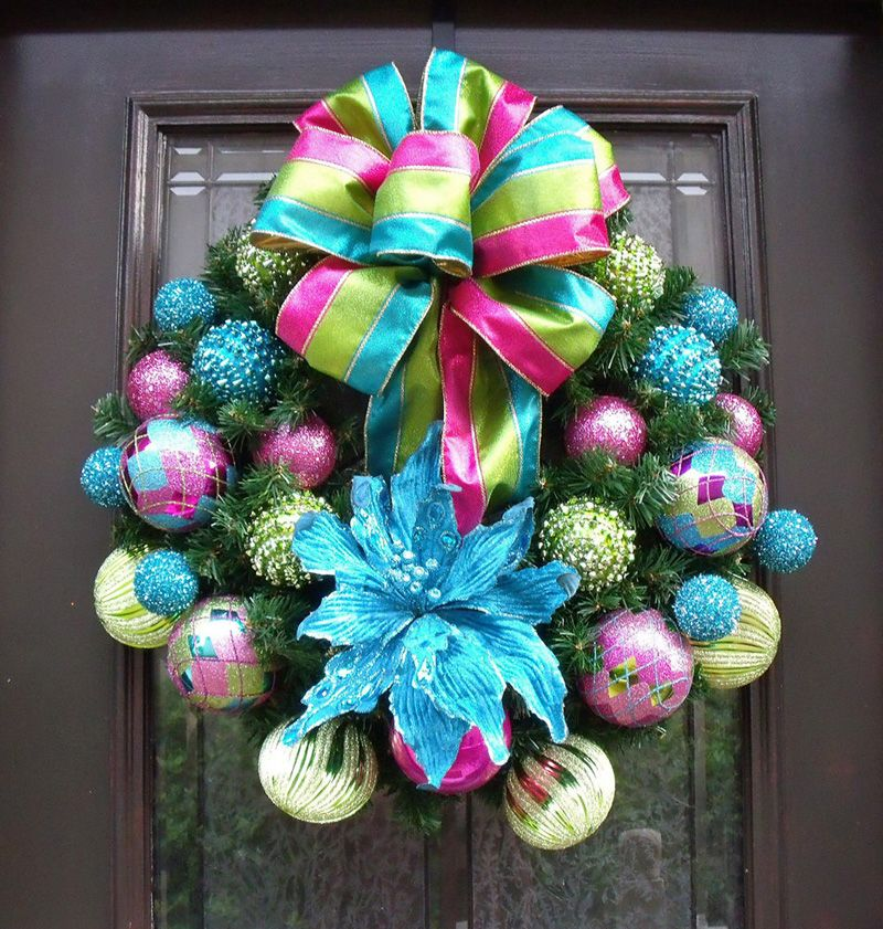 Guirnalda2 especial navidad coronas de adviento - Coronas de navidad para puertas ...
