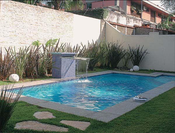 Projetos de piscinas de alvenaria passo a passo piscina for Piscina en jardin de 100 metros
