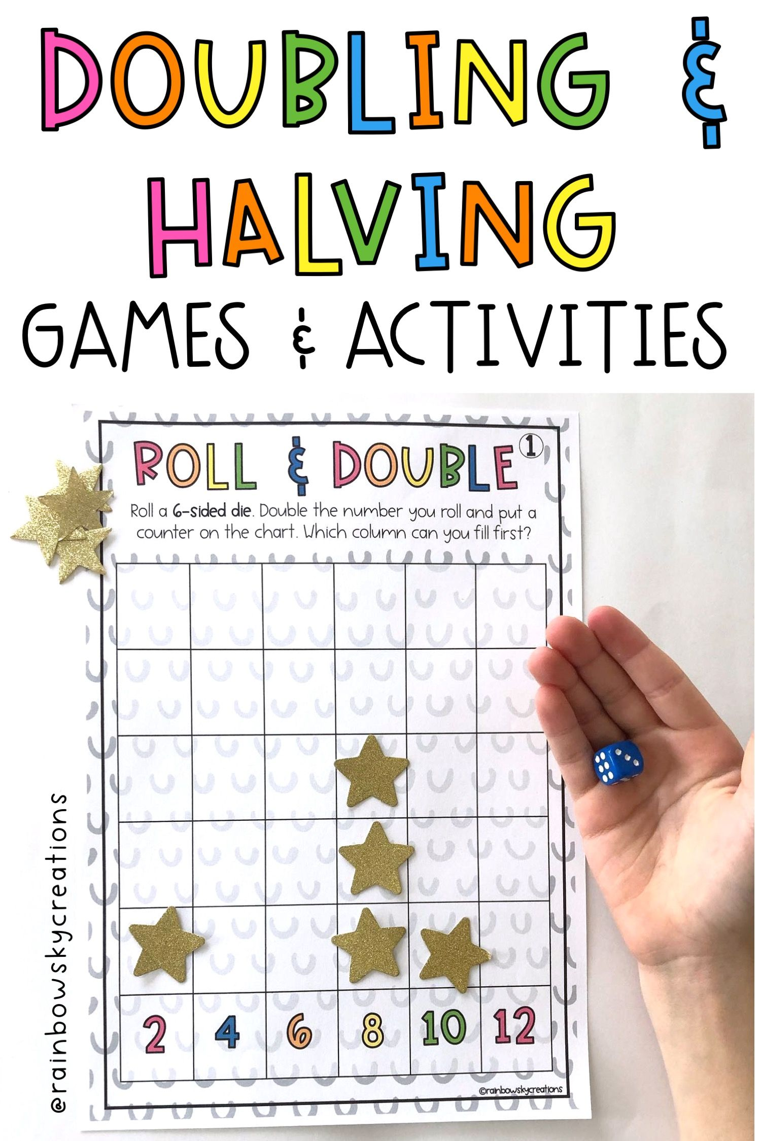 Doubling and Halving Games   Doubling and halving [ 2249 x 1500 Pixel ]