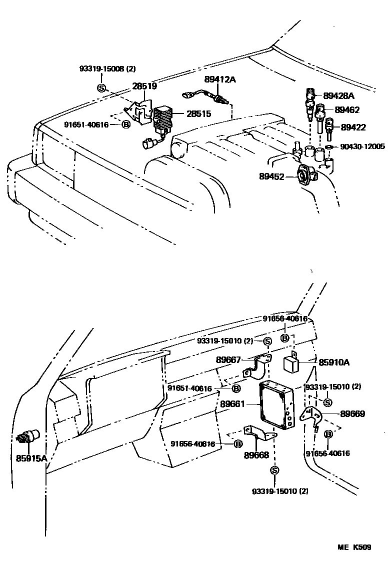 1990 Toyota 4runner Engine Diagram 3vze Best Electrical Schematic 1993 Pickup Basic Wiring U2022 Rh Rnetcomputer Co