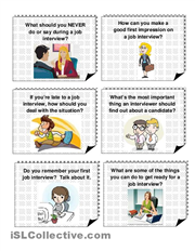 CONVERSATION QUESTIONS - JOB INTERVIEWS (With images ...