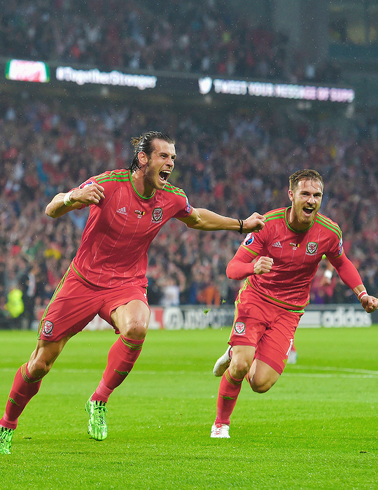 Hasta El Final Vamos Real Wales Football Team Wales Football Gareth Bale