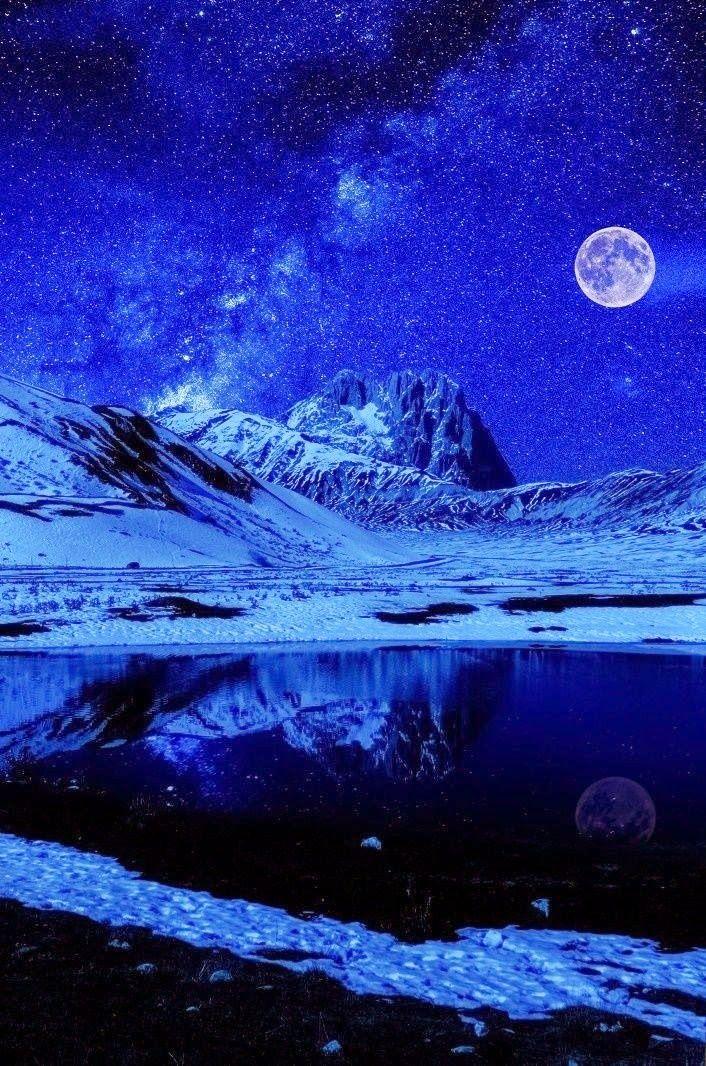 Moon Night Sky Lights Night Skies Beautiful Moon Sky