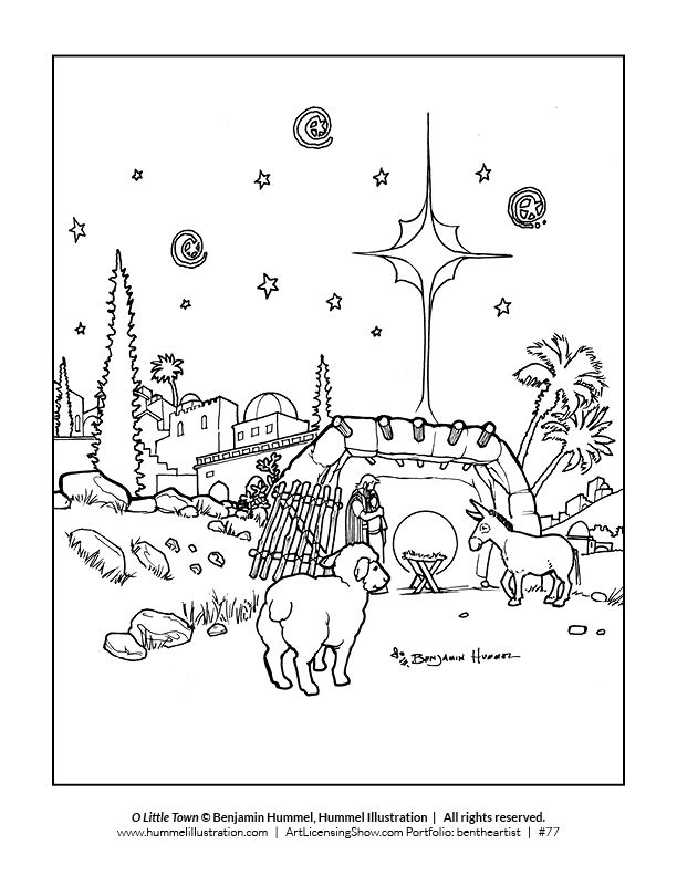 Free 92 Page Holiday Coloring Book | color me any color! | Coloring