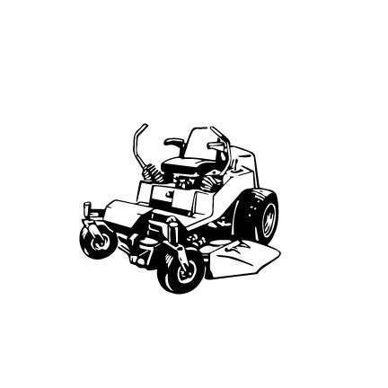 Zero Turn Mower Lawn Mower Outline Svg Digital Download Etsy Zero Turn Mowers Lawn Mower Best Zero Turn Mower