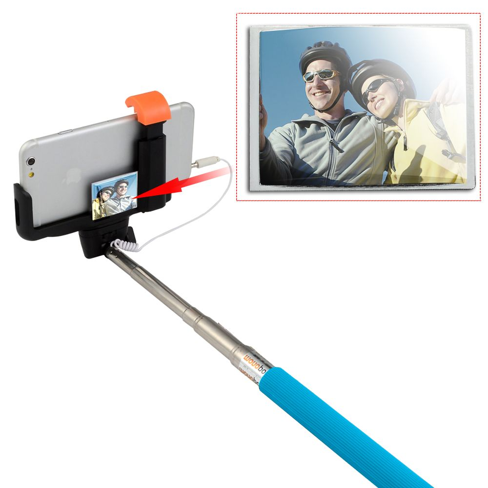 1.[New Version] mirror selfie stick enable to take pic. with phone rear camera. 2.Simple pair with your phone. 3.Multiple angle shooting with 180 degree position. 4.Supporting Android 4.2 and up generation, iOS 6.0 and above generation; Compatible with: iPod/ iPhone 6S 6 5S 5 4S 4, Samsung Note 4 3 2 S5 S4 S3 i9220/i9250/i9300/i9500/i9190, etc.