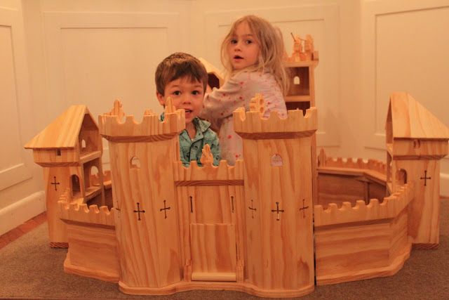 the elves and the wood botherer: wooden toys