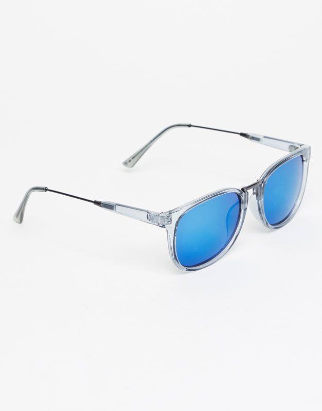 Pull Bear - hombre - accesorios - gafas de sol - gafas pasta transparente -  varios - 09897508-I2017 73a8421590e0