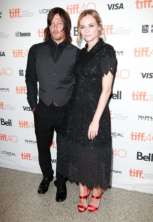 Norman Reedus And Diane Kruger Spotted Making Out: Joshua Jackson Loses Out To 'The Walking Dead' Star?