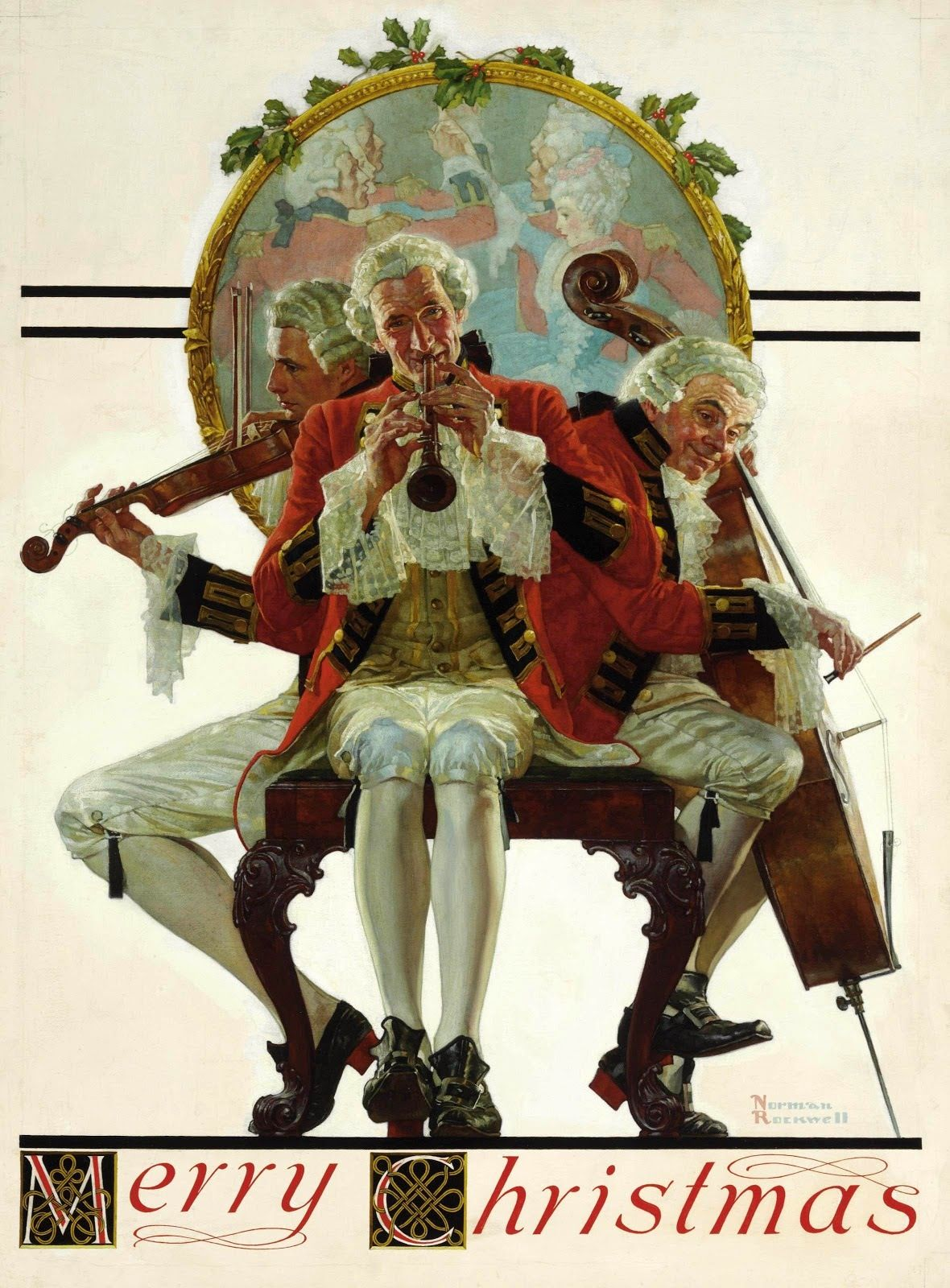 Christmas | norman rockwell | Pinterest | Norman rockwell, Norman ...