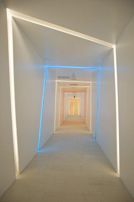 Warm Connection By Skira Studio Enlighter Magazine Corridor Design Light Architecture Interior Design Inspiration