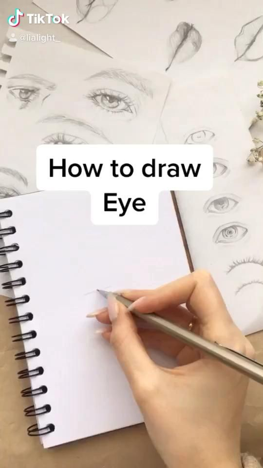 Photo of How to draw eye