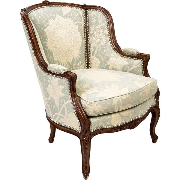 Pre Owned Jacquard Upholstered Armchair 445 Liked On