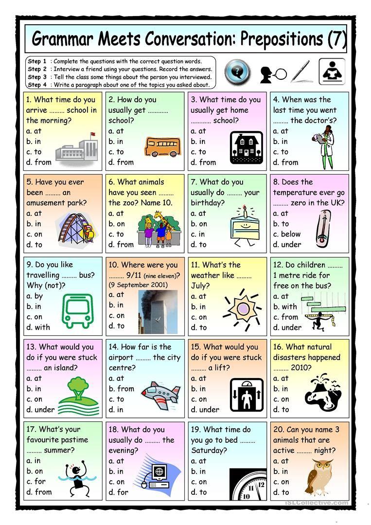 preposition list grammar englishclub - 763×1079
