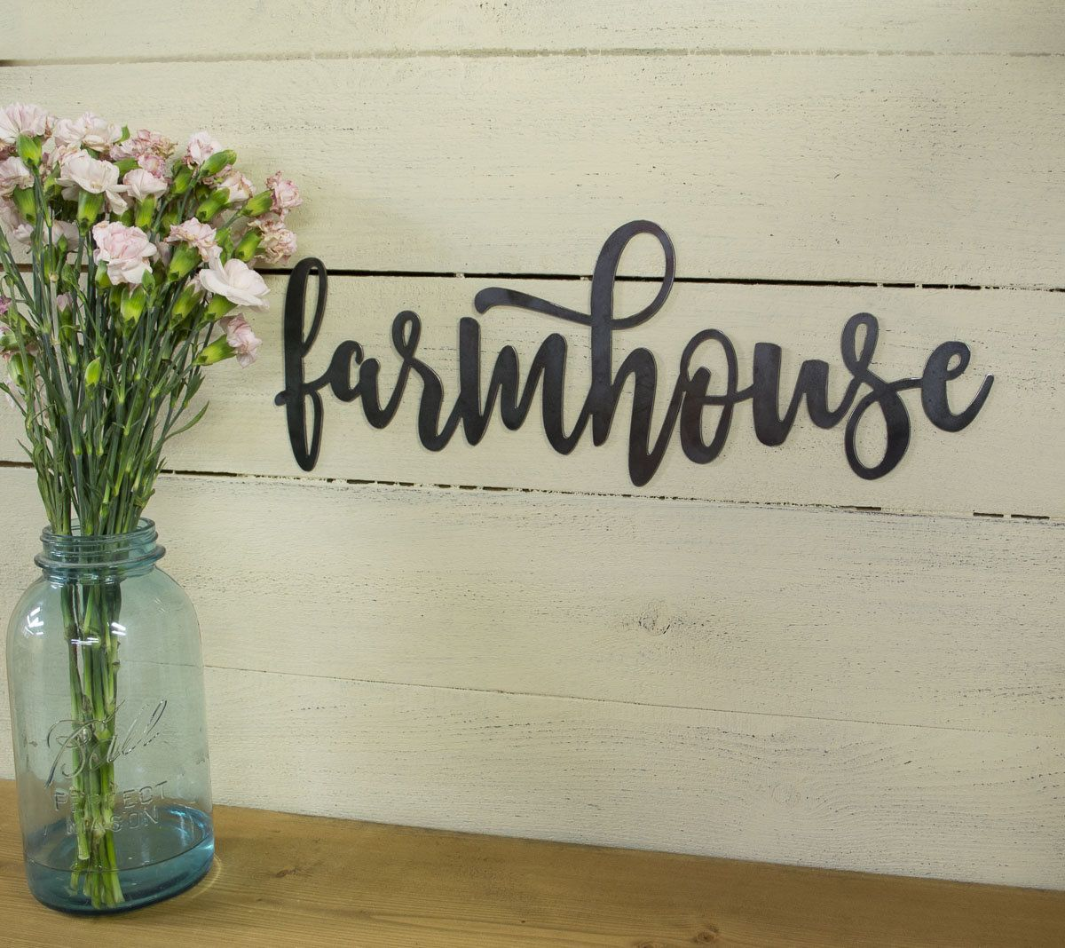 Farmhouse Metal Sign, Farmhouse Decor, Rustic Raw Metal ...