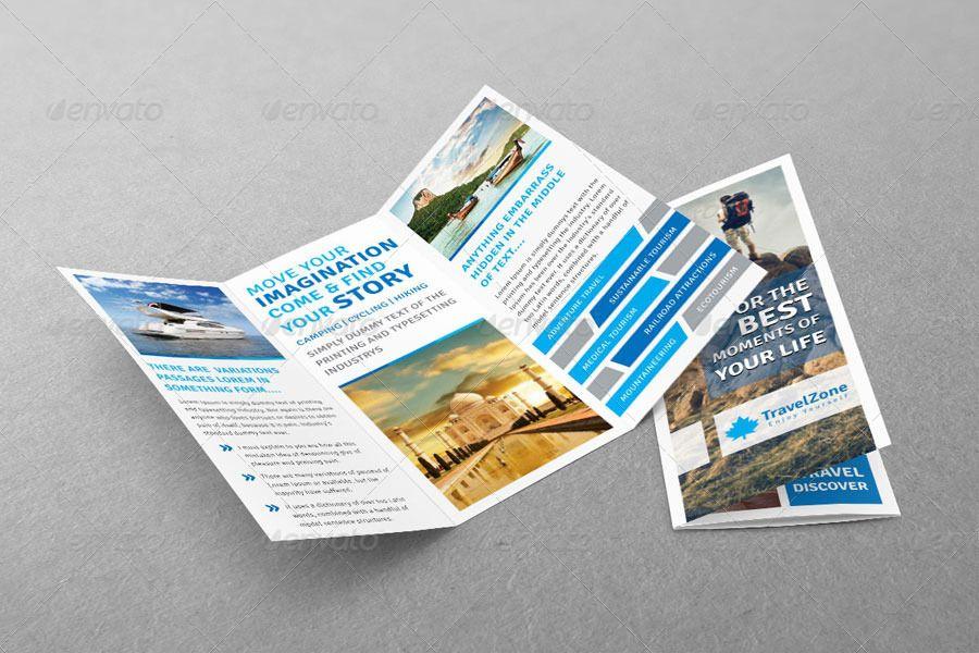 Tourism Tri Fold Brochure Volume 1 Trifold Brochure Brochure