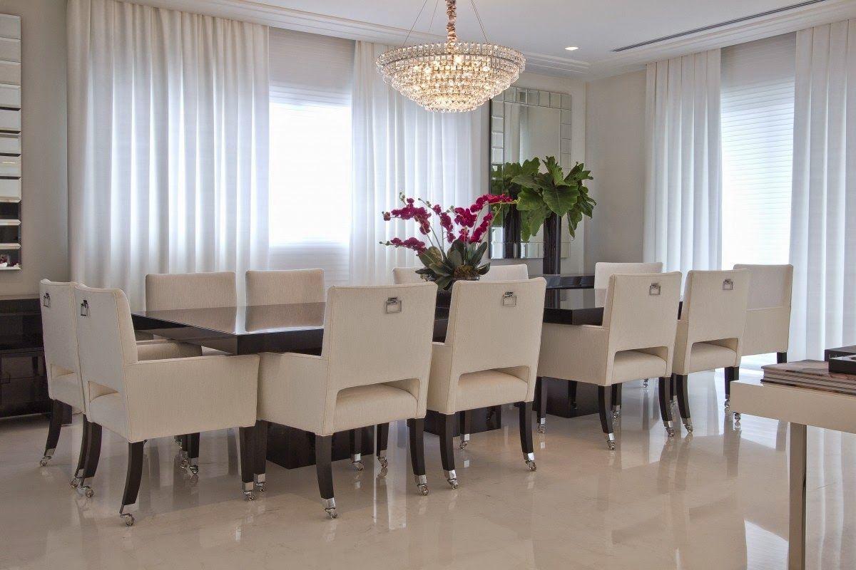Apartamento moderno com decoração Preto | Apartamento - Clássico ...