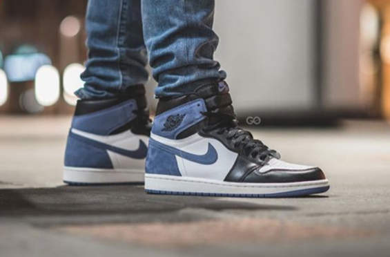 df231ed99e1 Air Jordan 1 Retro High OG Blue Moon (6 Rings) Arriving In May | Dr ...