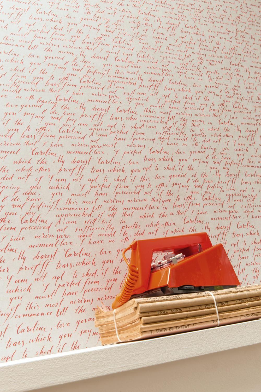 Papier peint romantic 67098080 vinyle sur intiss facile for Papel pintado para pintar castorama